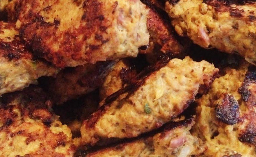Frikadeller med kylling og butterbeans