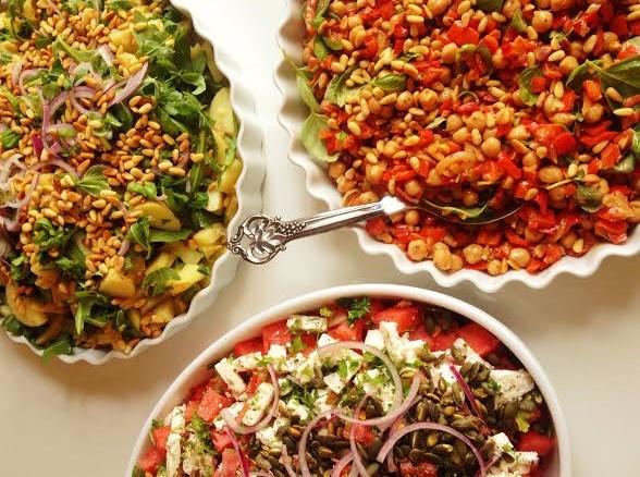 3 salater