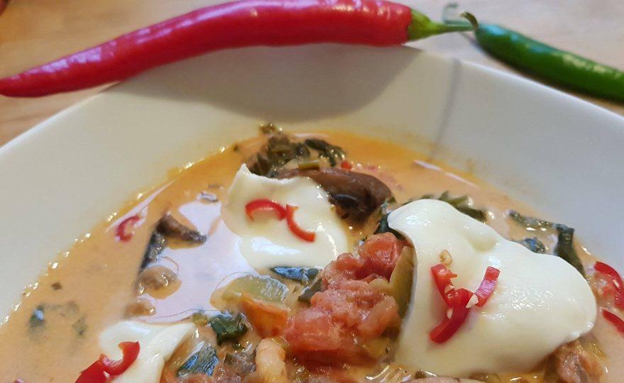 """""""Vupti-Vapti-Fisk"""" – fisk med karry og tomat"""