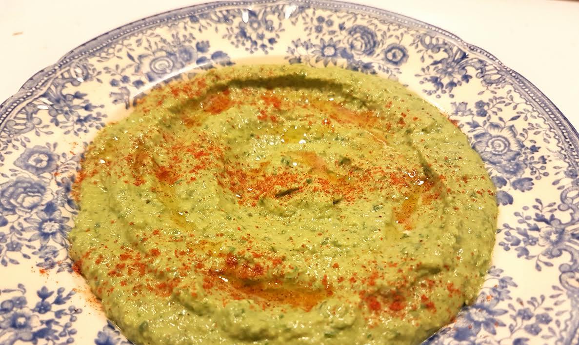 ovnbagt laks med spinat
