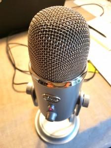 Mikrofon startupsnakken