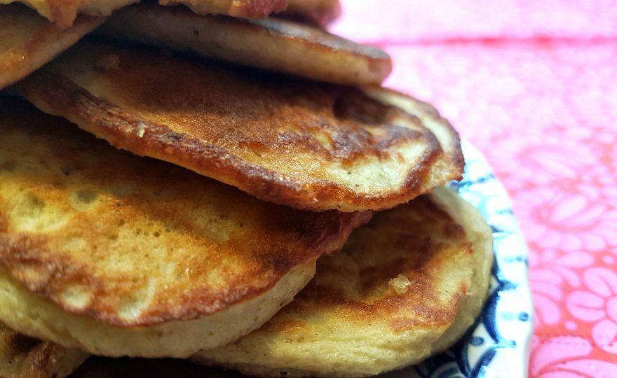 Pandekager med hytteost som mellem- eller hovedmåltid?