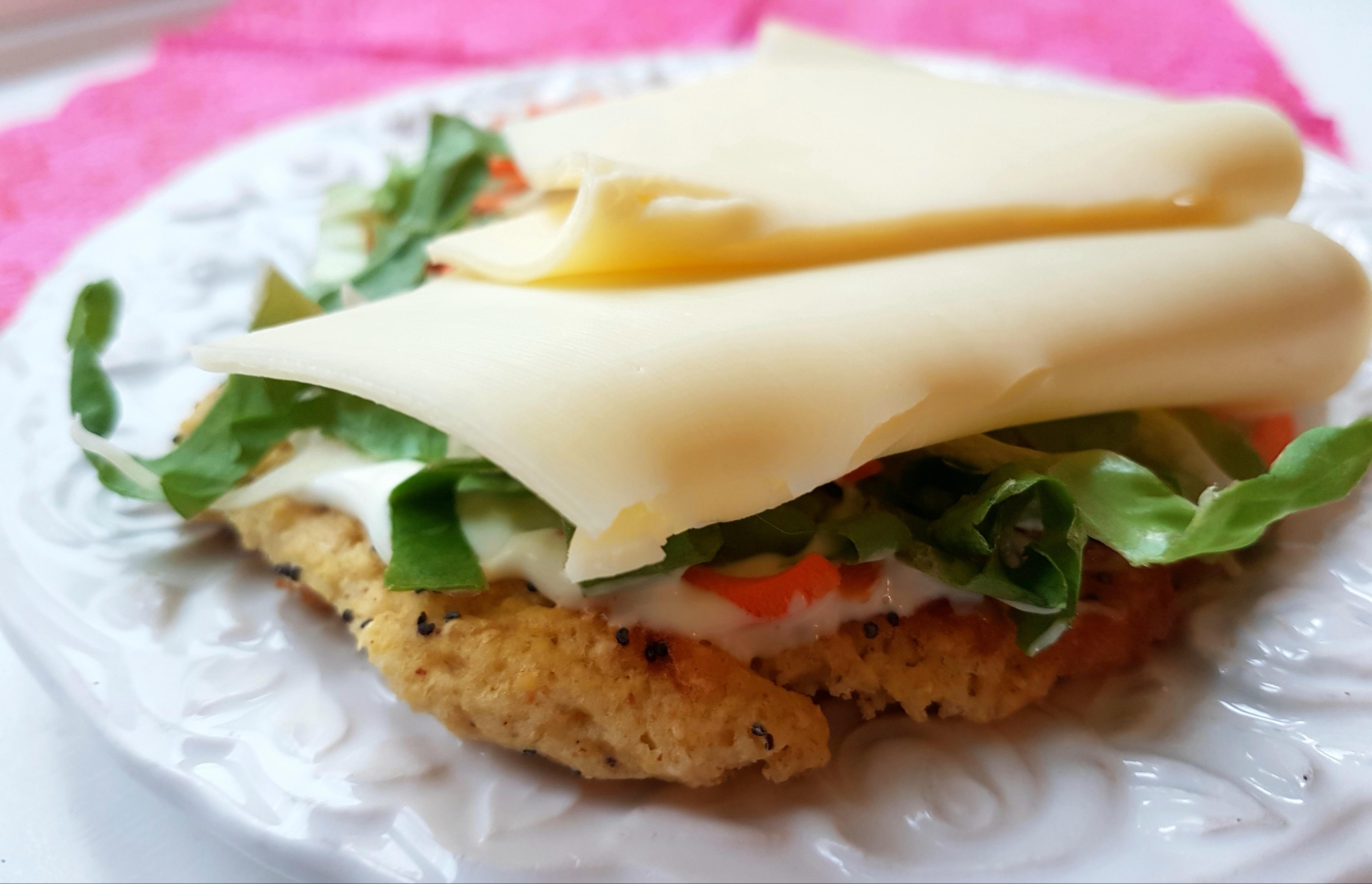 Sund kikærtebolle med ost