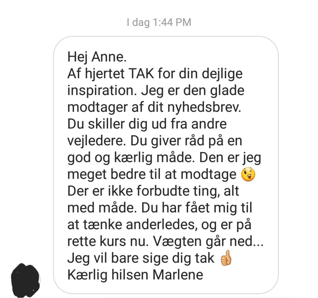 Nyhedsbrev Marlene