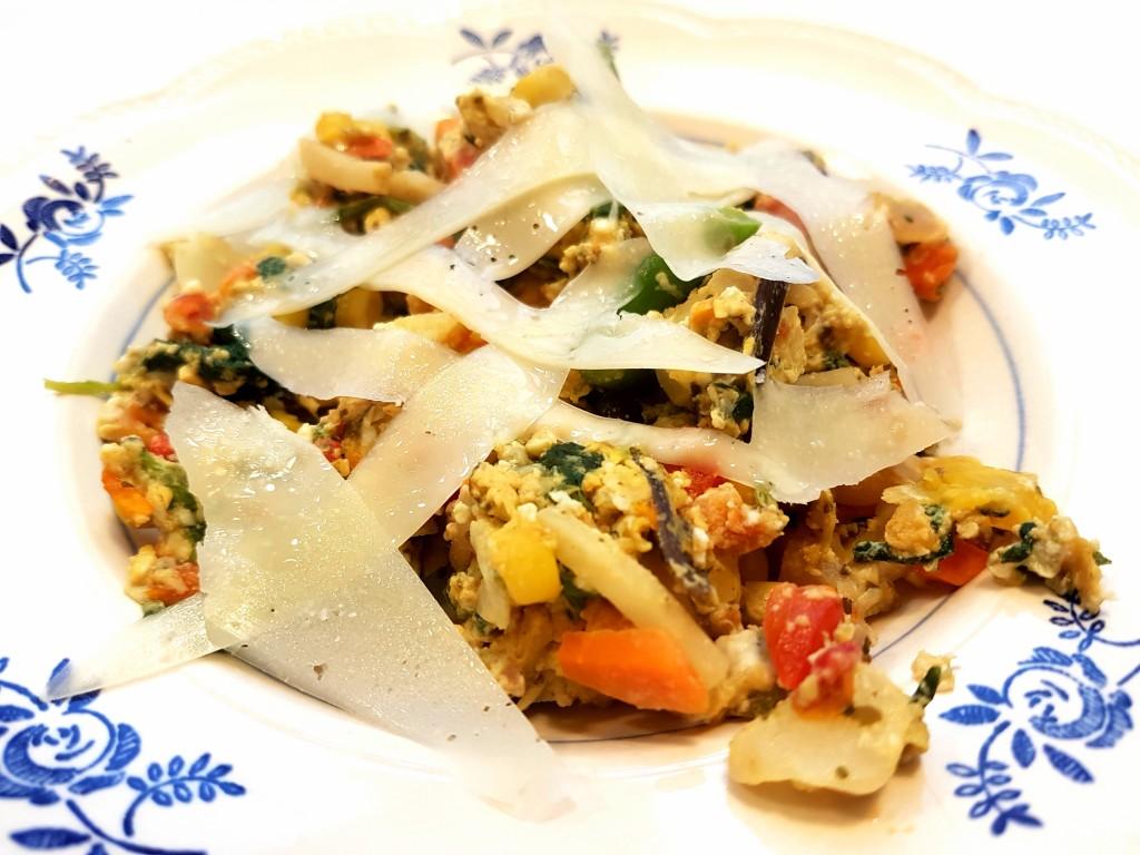Røræg med wokblanding