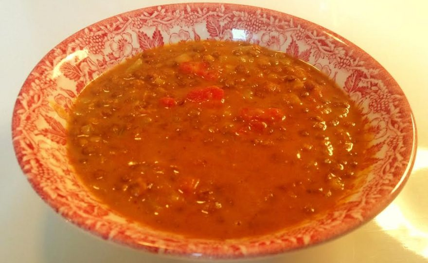 Lækker spicy dhal på 25 minutter – 10 uden simretid