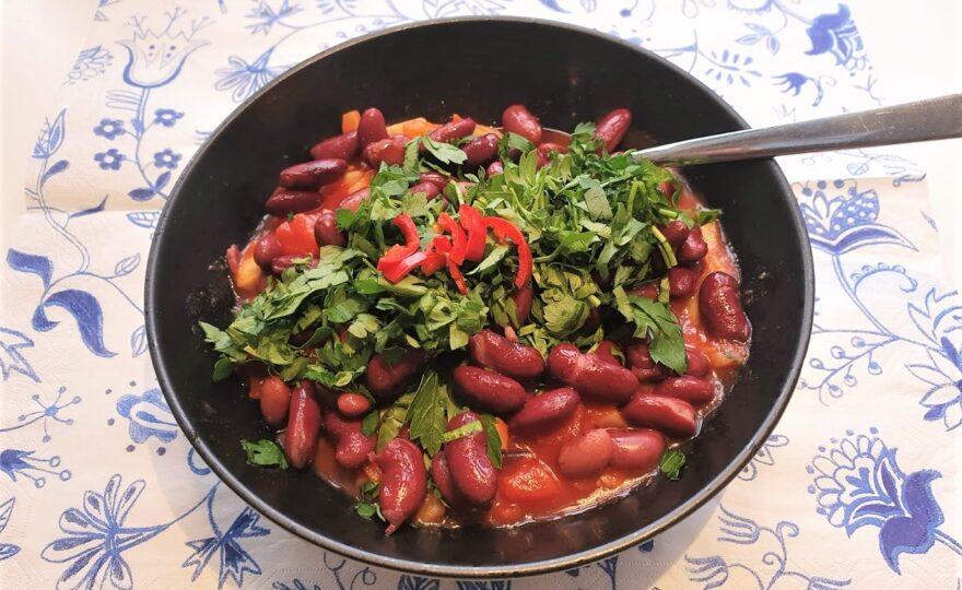 Let chili con carne – med kylling