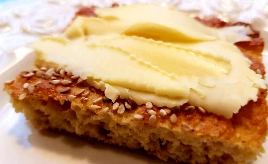 Skyrbrød med smør – lowcarb mellemmåltid