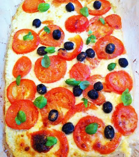 Pizzabund af grøntsager, HUSK og æg