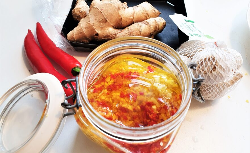 Krydderolie – grundopskrift med smæk på smagen